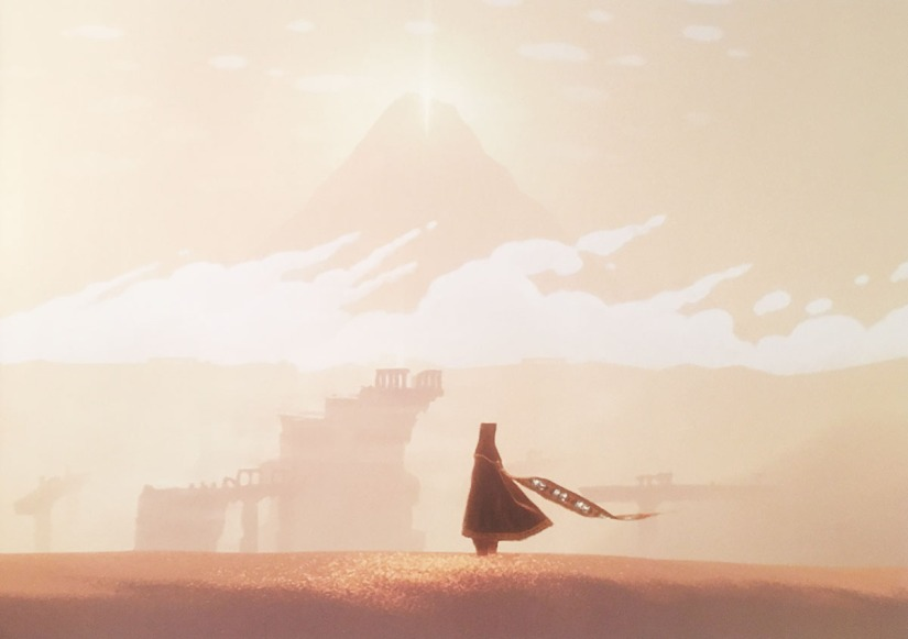Journey. The art of game development