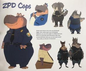 ZPD Cop concepts