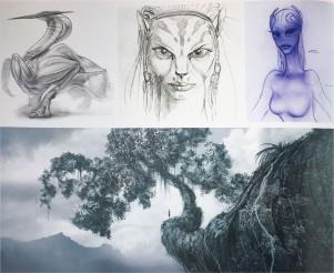 Na'vi early concept